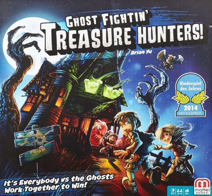 Ghost Fightin' Treasure Hunters! – A Review – Your Turn, Dad
